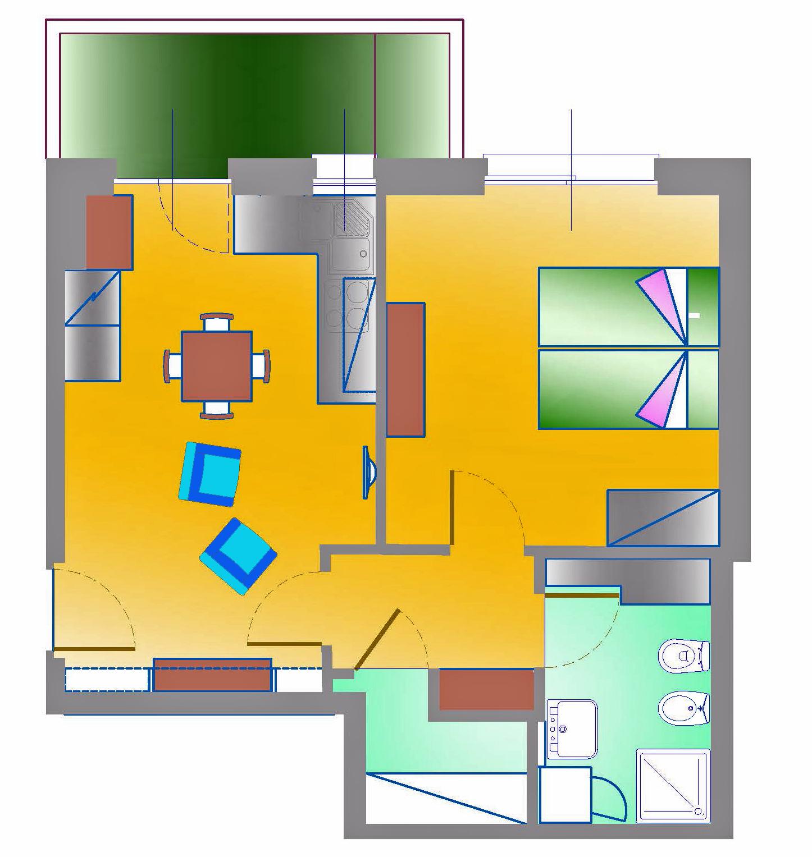 Appartamento signorile in città